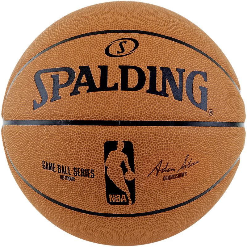 Spalding NBA Game Ball Replica Outdoor