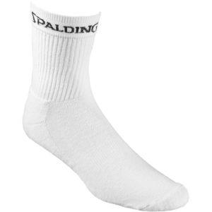 Spalding Socks Mid Cut White