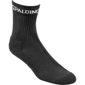 Spalding Socks Mid Cut Black