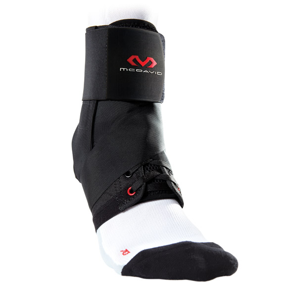 McDavid Ankle Brace with Straps Black