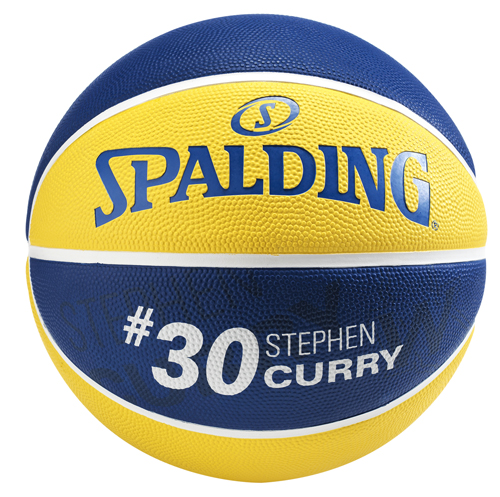 Spalding NBA Player Ball Stephen Curry back