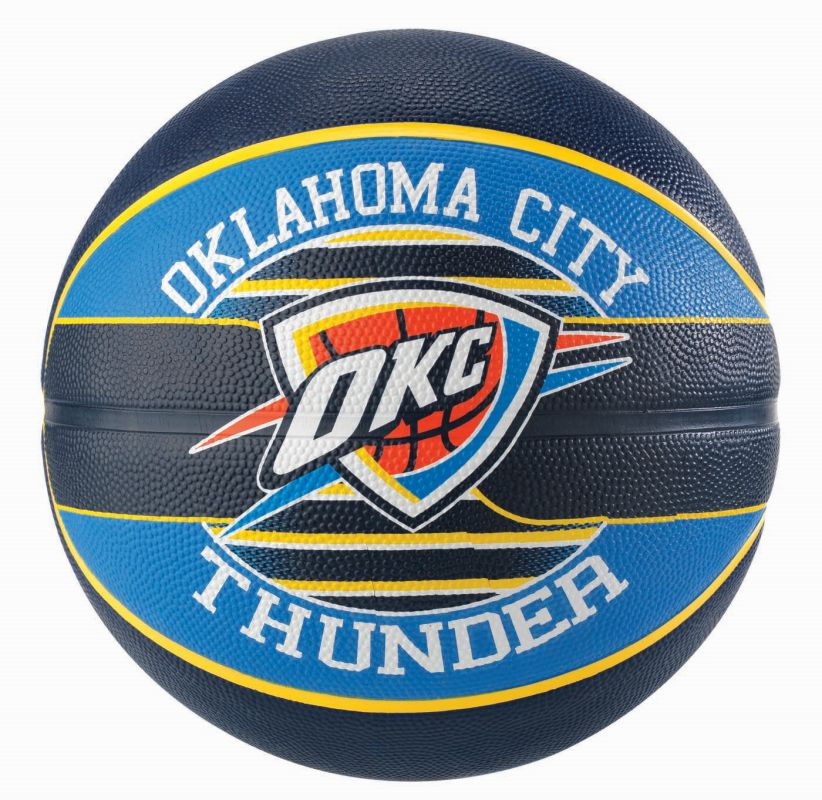 Spalding NBA Team Ball Oklahoma City Thunder