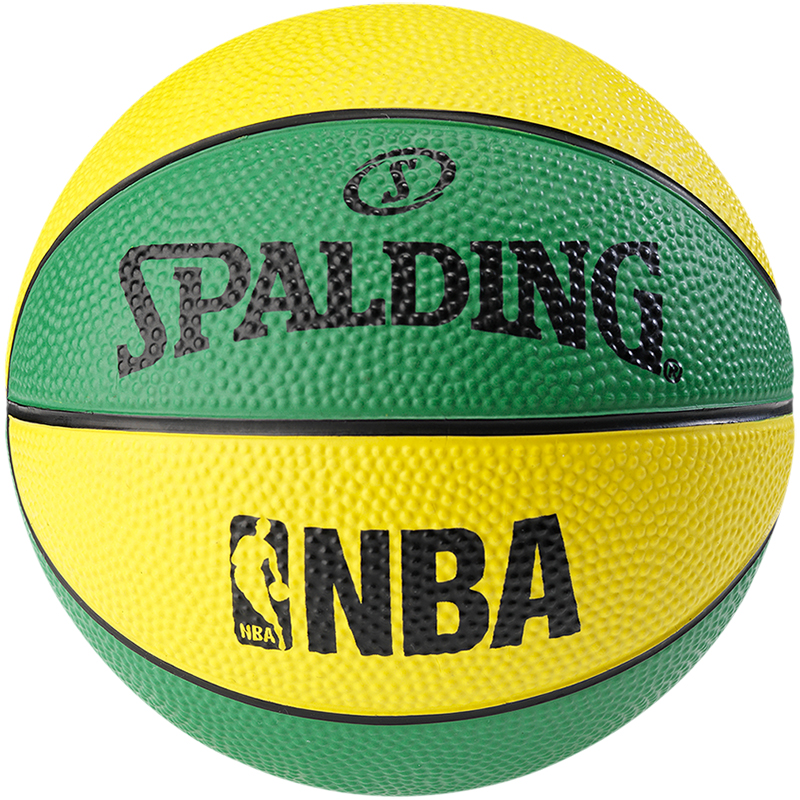 Spalidng NBA Miniball Green/Yellow