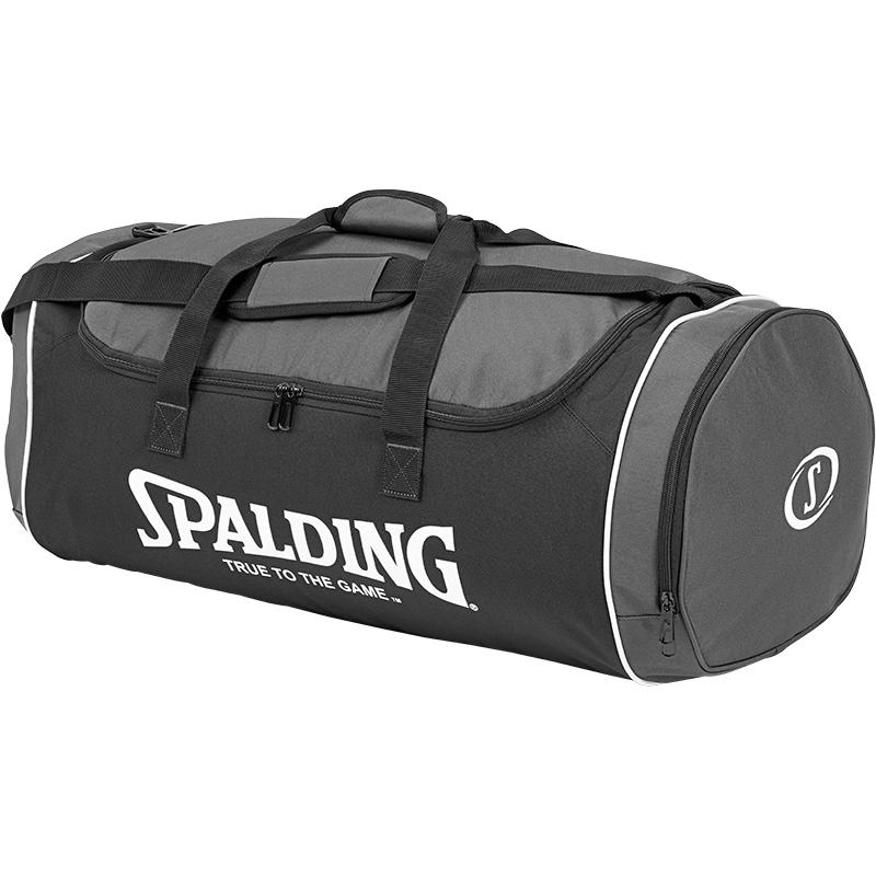 cfabdcd4a959 Spalding Tube Sportsbag Large Anthracite Black White