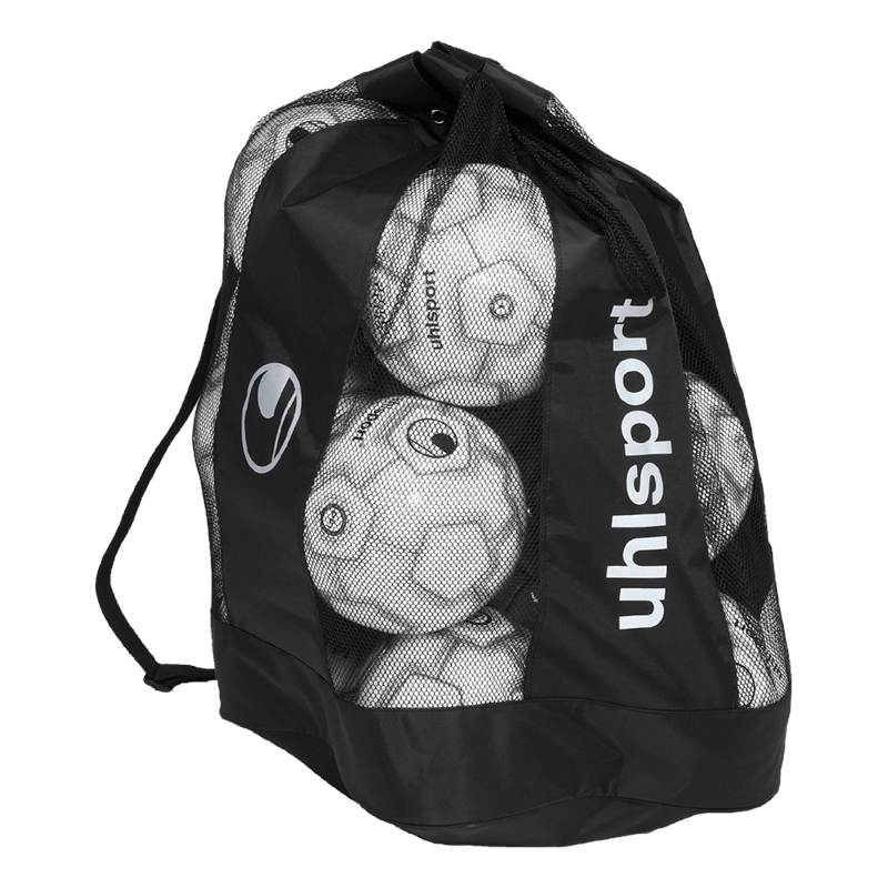 Uhlsport 12 Football Ball Bag Black/Silver