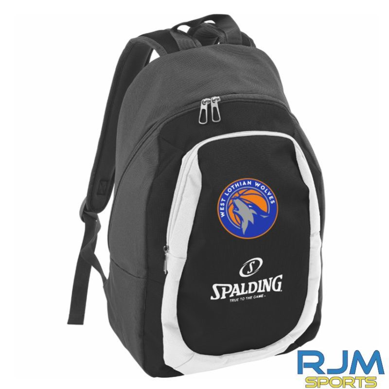 WLW Spalding Backpack Essential Anthracite Black