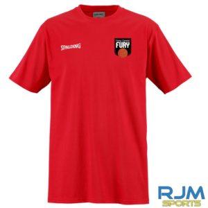 Falkirk Fury Promo T-Shirt Red
