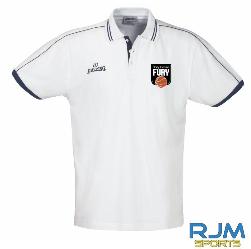 Falkirk Fury Polo Shirt White
