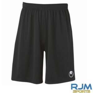 Cumbernauld Colts Away Uhlsport Centre Basic Shorts Without Inner Slip Black