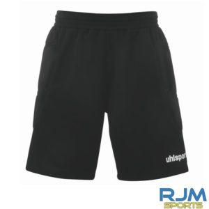 Goalkeeper Uhlsport Sidestep Goalkeeper Shorts Black