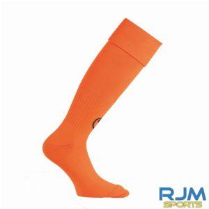 Cumbernauld Colts Goalkeeper Uhlsport Team Essential Socks Fluo Orange Black