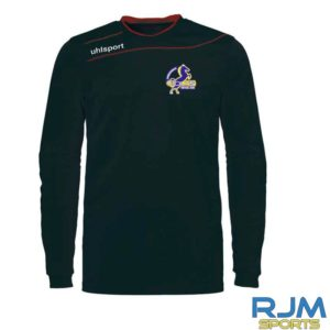 Cumbernauld Colts Goalkeeper Uhlsport Stream 3.0 Shirt Long-Sleeve Black Red