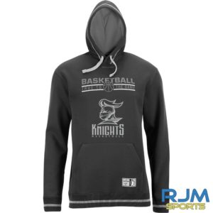 Stirling Knights Team Hoody Black Silvergrey