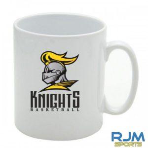 Stirling Knights Mighty Mug White