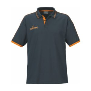 Spalding Polo Shirt Anthracite Orange