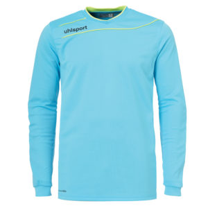 uhlsport Stream 3.0 Goalkeeper Shirt Long Sleeved Ice Blue Fluo Yellow