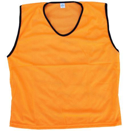 Diamond Mesh Bib Orange