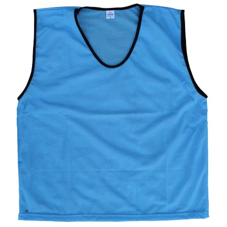Diamond Mesh Bib Blue