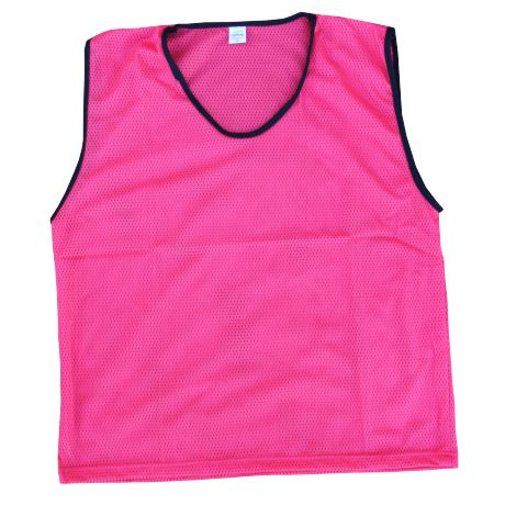 Diamond Mesh Bib Pink