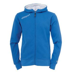 uhlsport Essential Hood Jacket Azure Blue