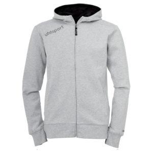 uhlsport Essential Hood Jacket Grey Melange