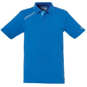 uhlsport Essential Polo Shirt Azure Blue