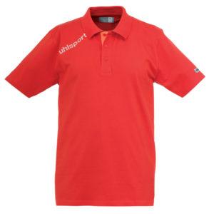 uhlsport Essential Polo Shirt Red
