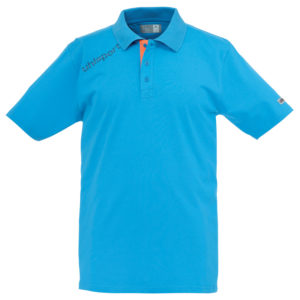 uhlsport Essential Polo Shirt Cyan