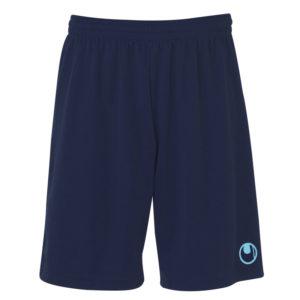 uhlsport Centre Basic II Shorts Navy14 Sky Blue