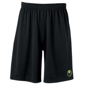 uhlsport Centre Basic II Shorts Black Flash Green