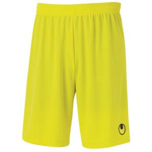 uhlsport Centre Basic II Shorts Lime Yellow