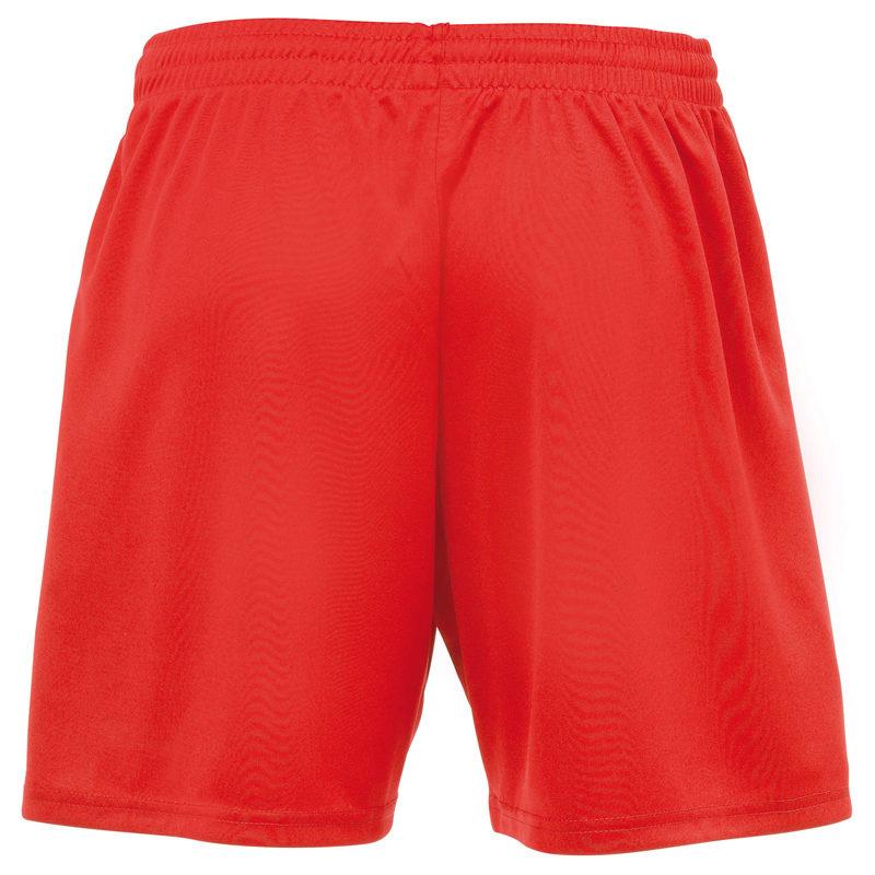 uhlsport Women Centre Basic II Shorts Red Rear
