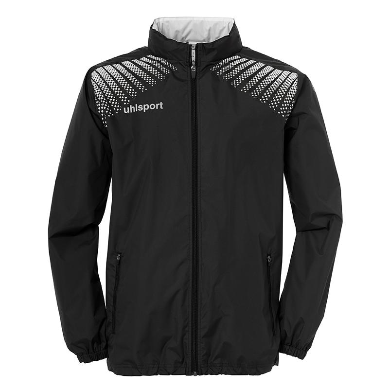 uhlsport Goal Rain Jacket Black White