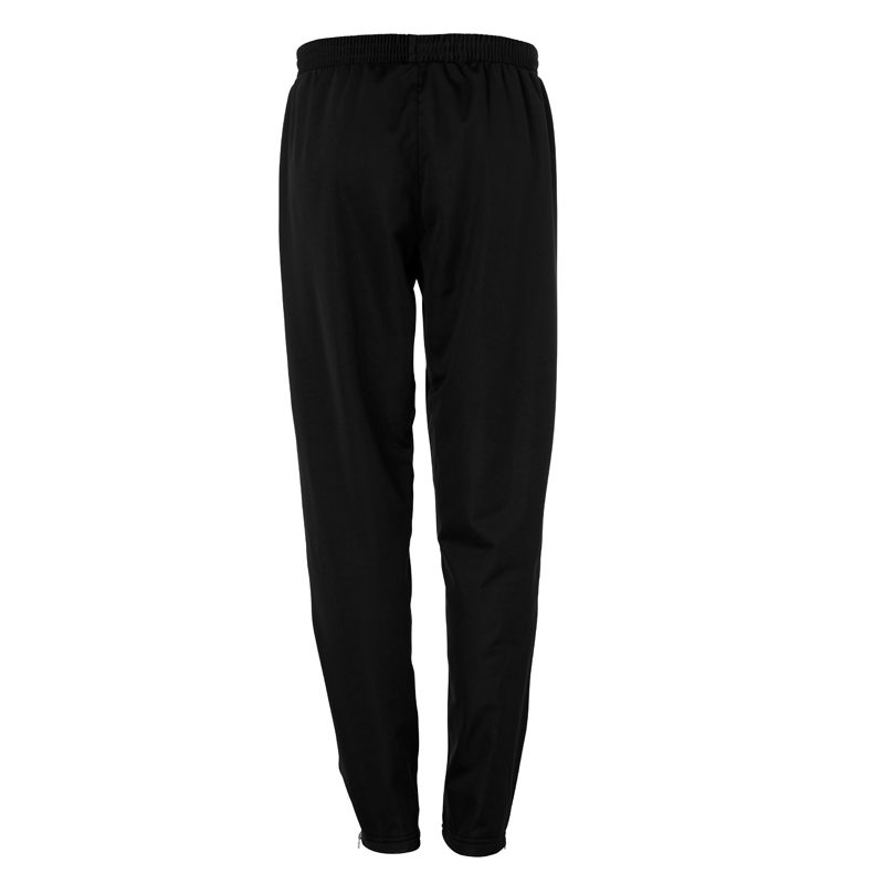 uhlsport Classic Pants Black White Rear