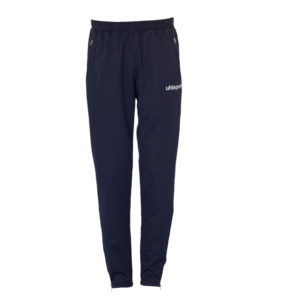 uhlsport Classic Pants Navy White Front View