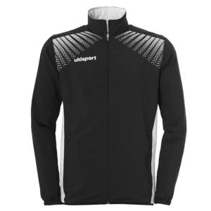 uhlsport Goal Presentation Jacket Black White