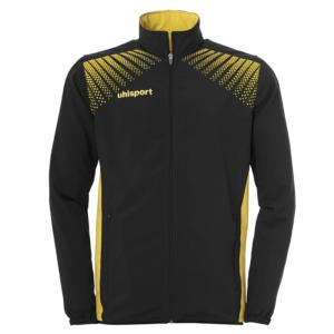 uhlsport Goal Presentation Jacket Black Lime Yellow