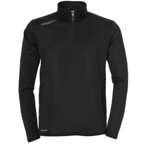 uhlsport Essential Quarter Zip Top Black White
