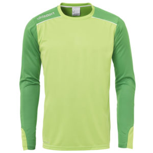 uhlsport Tower Goalkeeper Shirt Long Sleeved Power Green White