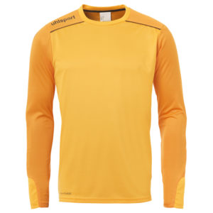 uhlsport Tower Goalkeeper Shirt Long Sleeved Orange Black