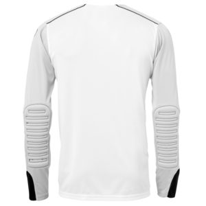 uhlsport Tower Goalkeeper Shirt Long Sleeved White Black Back