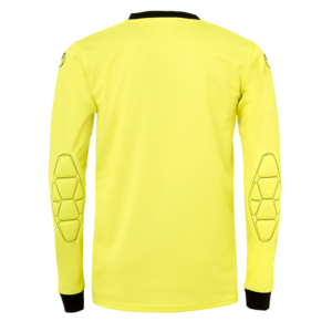uhlsport Goal Goalkeeper Shirt Long Sleeved LITE Fluo Yellow Black Back