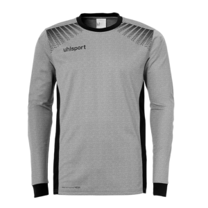uhlsport Goal Goalkeeper Shirt Long Sleeved Dark Grey Melange Black
