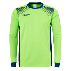 uhlsport Goal Goalkeeper Shirt Long Sleeved Flash Green Petrol