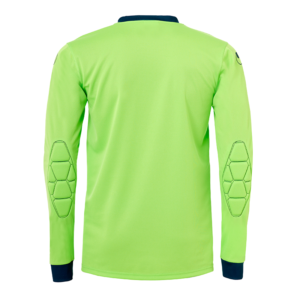 uhlsport Goal Goalkeeper Shirt Long Sleeved Flash Green Petrol Back