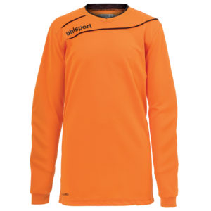uhlsport Stream 3.0 Goalkeeper Shirt Long Sleeved Orange Black
