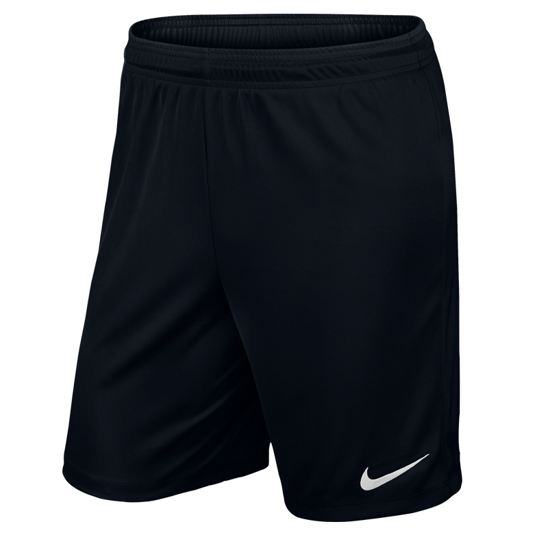 Nike Park II Knit Short With Brief Black White • RJM Sports c0d9228311d