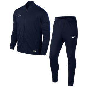 Nike Academy 16 Knit Tracksuit Obsidian Deep Royal White