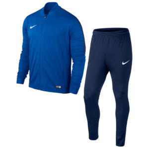 Nike Academy 16 Knit Tracksuit Royal Blue Obsidian White