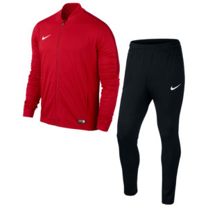 Nike Academy 16 Knit Tracksuit University Red Black Gym Red